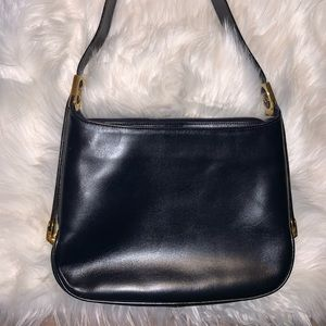 Bally Black Patent Leather Shoulder Bag